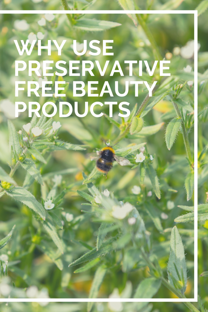 Why use preservative-free beauty products